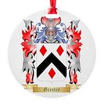 Grestey Round Ornament