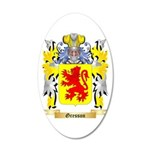 Gresson 20x12 Oval Wall Decal