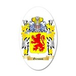 Gresson 35x21 Oval Wall Decal
