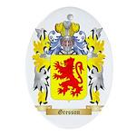 Gresson Ornament (Oval)