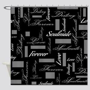 Soulmate Forever Love Destiny Shower Curtain