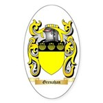 Grenahan Sticker (Oval 10 pk)