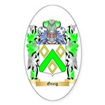 Greig Sticker (Oval 50 pk)