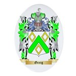 Greig Ornament (Oval)