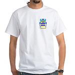 Greguol White T-Shirt