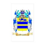 Greguol Sticker (Rectangle 50 pk)