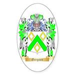 Gregson Sticker (Oval 10 pk)