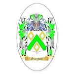 Gregson Sticker (Oval 50 pk)