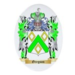 Gregson Ornament (Oval)