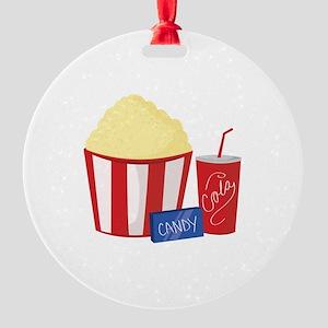 Movie Snacks Ornament