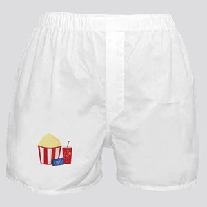 Movie Snacks Boxer Shorts