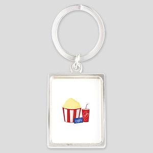 Movie Snacks Keychains