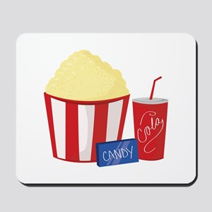 Movie Snacks Mousepad