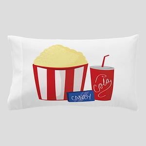 Movie Snacks Pillow Case