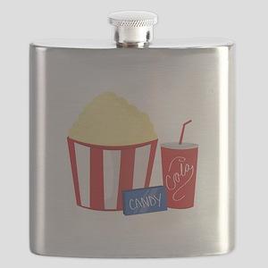 Movie Snacks Flask