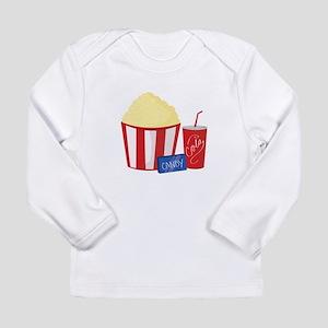 Movie Snacks Long Sleeve T-Shirt