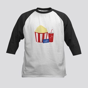 Movie Snacks Baseball Jersey