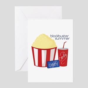 Blockbuster Summer Greeting Cards