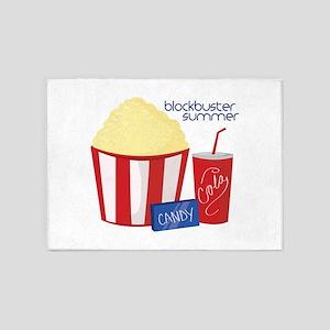 Blockbuster Summer 5'x7'Area Rug
