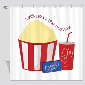 To The Movies Shower Curtain