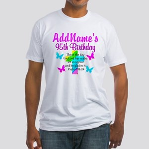 95TH PRAYER Fitted T-Shirt