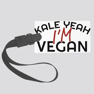 Kale Yeah I'm Vegan Luggage Tag
