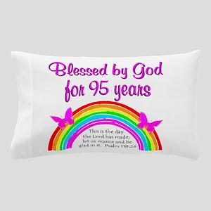 GOD LOVING 95TH Pillow Case