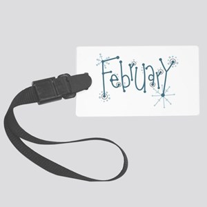 February Luggage Tag