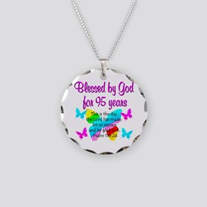 RELIGIOUS 95TH Necklace Circle Charm