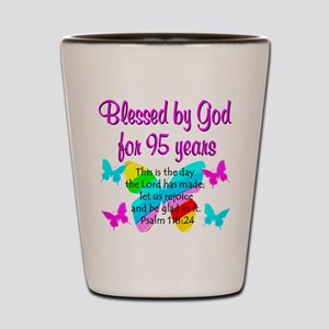 RELIGIOUS 95TH Shot Glass