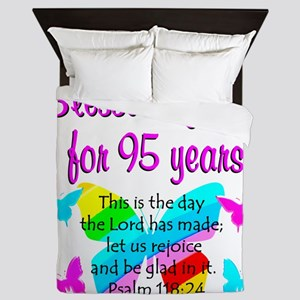 RELIGIOUS 95TH Queen Duvet