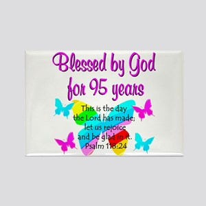 RELIGIOUS 95TH Rectangle Magnet