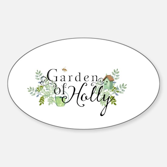 Garden of Holly Decal