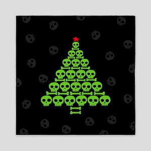 Skull Xmas Tree Queen Duvet