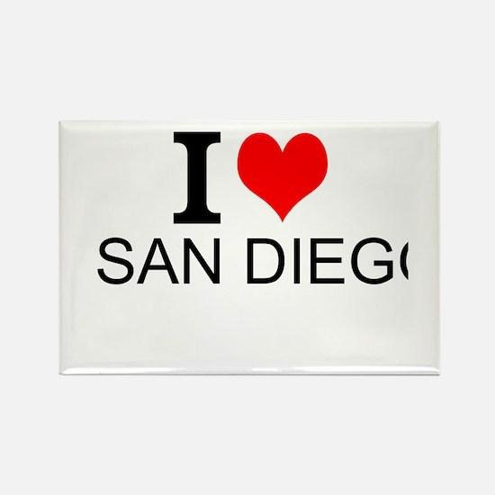 I Love San Diego Magnets