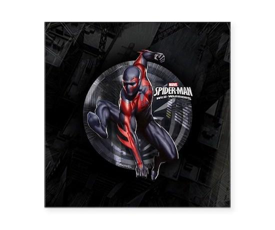 Web warriors spider man 209 square sticker 3