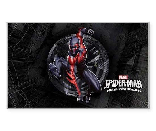 Web warriors spider man 2099 sticker rectangle