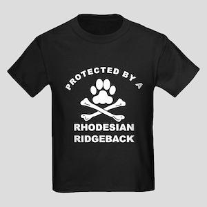 Protected By A Rhodesian Ridgeback T-Shirt