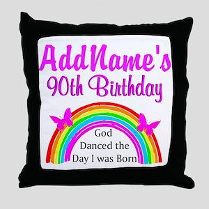 LOVING GOD 90TH Throw Pillow