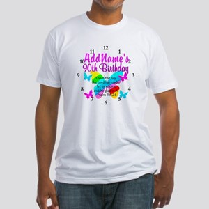 BLESSED 90TH Fitted T-Shirt