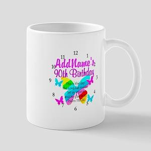 BLESSED 90TH Mug
