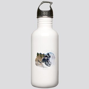 Airborne Snowmobile Stainless Water Bottle 1.0L