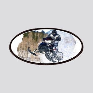 Airborne Snowmobile Patches
