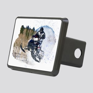 Airborne Snowmobile Rectangular Hitch Cover