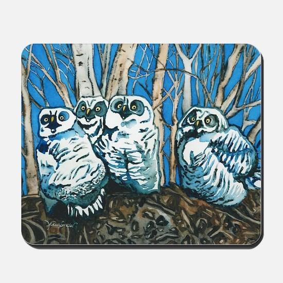 Four Owls Mousepad