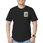 Gregson 2 Men's Fitted T-Shirt (dark)