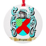 Gregson 2 Round Ornament