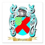 Gregson 2 Square Car Magnet 3