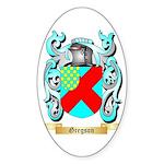 Gregson 2 Sticker (Oval 50 pk)