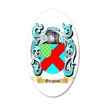 Gregson 2 35x21 Oval Wall Decal